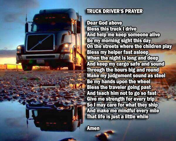 Truckers Prayer